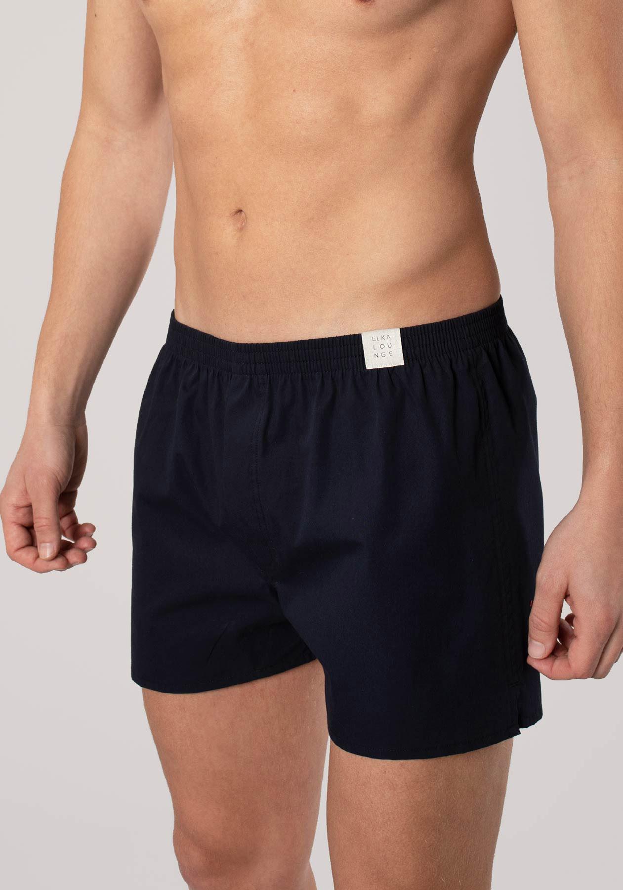 Men boxershorts Navy blue